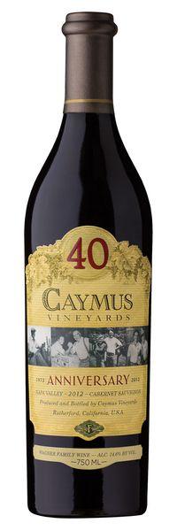 Caymus 40 Year Anniversary - 2012 - 1000ml