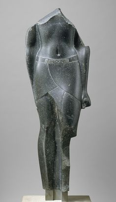Torso of a Ptolemaic King [Egyptian] (1981.224.1) | Heilbrunn Timeline of Art History | The Metropolitan Museum of Art