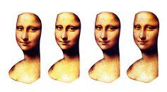 Renessanssi - Mona Lisa uusiksi, kasvokuva monistettavaksi oppilaille (1/oppilas).
