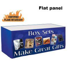 Flame Retardant Printed Polyester Table Skirt $189 MSRP $250 You Save: $61 (24%)