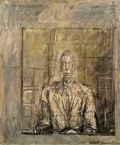 Portrait of Peter Watson (1953) / by Alberto Giacometti
