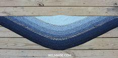 Joyful Josie Shawl - Free crochet pattern to make this #round #crochet #shawl on wilmade.com (including video tutorial)