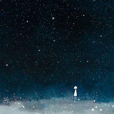 "littleoil: "" Endless stars endless lonely """