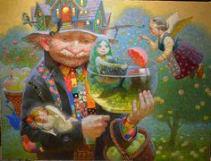 Victor Nizovtsev /Виктор Низовцев, 1965   Fantasy painter   Tutt ...