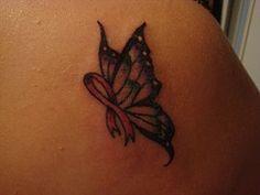 breat cancer tattoo