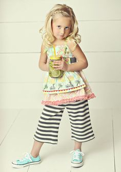 In the Meadow Knot Top & Smooth Sailing straightees - Matilda Jane Hello Lovely absolutely  love this