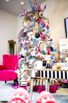 Bright Multi-Color Christmas Tree