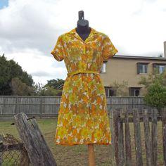 70s Tea Dress