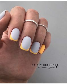 These gorgeous nail art designs are giving us all the manicure inspiration we need for our next manicure. We are obsessed with these fabulous nails. Trendy Nail Art, Stylish Nails, French Nail Designs, Nail Art Designs, Nails Design, Perfect Nails, Gorgeous Nails, Fabulous Nails, Colored French Nails