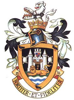 Guildford - Heraldry of the World, Crest, Arms, Coat of Arms