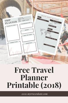 Free Travel Planner for Female Travelers | solo travel, budget travel, female travel, student travel, travel planning tips, travel tips, travel bloggers