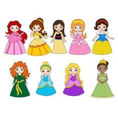 Little Princess SVG Cuttable Designs