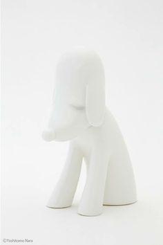 Linden「あおもり犬貯金箱(白)」 いろんな玩具作ってます☆東京藝術大学美術学部デザイン科出身