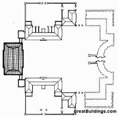 Easton Neston Proposed Site Plan Sketch