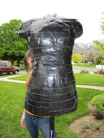 Duct tape Personalized Dress Form