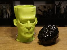 Frankenstein's Monster with Removable Brain  by yeg3d