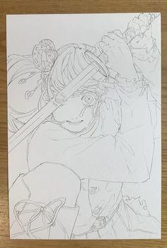Anime Sketch, Art Drawings, Anime Art, Fanart, Idol, Sketches, Manga, Random, Artwork