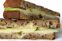 Apple and Aged Cheddar Grilled Cheese  Recipe