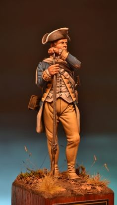 Hello to all guys are Giorgio from Rome. This is one of my latest pieces completely painted in acrylic of the company Elite. Independencia Usa, English Restoration, Toy Soldiers, Military History, Figure Painting, 18th Century, New York, Model, Fictional Characters