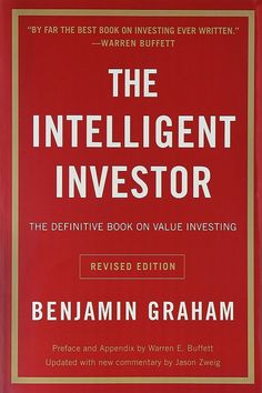 The Intelligent Investor is bestseller book by writer Benjamin Graham. Written in this book reveals the secret to become successful investor in stock market. This book teaches long term, more risk averse approach to stock market investment. Value Investing, Investing In Stocks, Benjamin Graham, Reading For Beginners, Rich Dad Poor Dad, Money Book, How To Become Rich, Books To Read Online, Libros