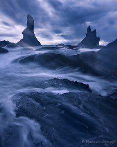 Sand & sea swirls