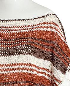 Tricot e Crochê - Tramas Coloridas: Crochê na moda do Verão
