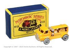 Matchbox Regular Wheels No.28A Bedford Compressor Truck | Vectis Toy Auctions
