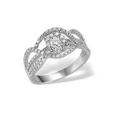 Un inel plin de diamante poate atrage privirile oricui. Inelul din aur alb cu diamant central și alte zeci de diamante care însoțesc decupajele asimetrice, fac dintr-un simplu accesoriu o bijuterie de vis.  #womenrings #rings #diamondring #whitegold #womenjewellery Aur, Heart Ring, Wedding Rings, Engagement Rings, Jewelry, Enagement Rings, Jewlery, Jewerly, Schmuck