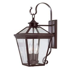 "SAVOYWALL Outdoor Wall Sconce $170  9""x19"""
