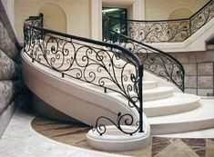 18 Best Ideas For Wrought Iron Stairs Railing Indoor Stair Railing Ideas ideas I Stairs Design Modern Ideas Indoor iron Railing Stair Stairs wrought Indoor Stair Railing, Modern Stair Railing, Wrought Iron Stair Railing, Iron Staircase, Staircase Railings, Modern Stairs, Railing Design, Staircase Design, Railing Ideas
