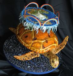 This Discworld Turtle Cake May Cause You Some Guilt