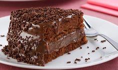 Aprenda a fazer Receita de bolo de brigadeiro , Saiba como fazer a Receita de bolo de brigadeiro , Show de Receitas