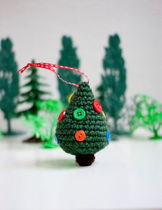 cute crochet ornament