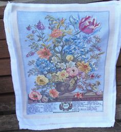 Selection of vintage completed cross stitch & tapestry - for craft projects | eBay