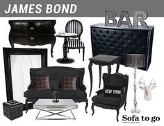 Thématique James Bond / James Bond thematic - Sofa to Go