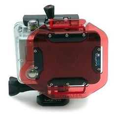 Other Consumer Electronic Lots: Hd Oculus Red Filter For Dive Housing Underwater Diving Scuba Flat For Gopro 2 -> BUY IT NOW ONLY: $55 on eBay!