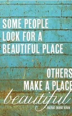 MAKE a beautiful place  - popculturez.com