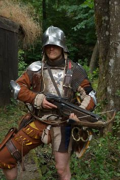 LARP interpretation of Landsknecht.