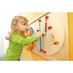 Sensory Walls by HABA, Glitter Rods, 120371