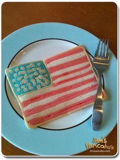 american-flag-pancake-USA by Jim's Pancakes, via Flickr