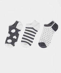 Pack of heart pattern ankle socks - OYSHO