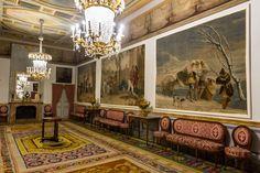 Salón de Goya. Palacio de El Pardo.
