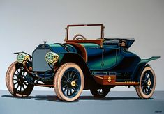 Isotta Fraschini Tipo 1911 Painting