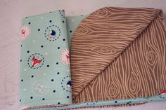 woodland print flannel and cotton children's by MamaMandolin, $50.00