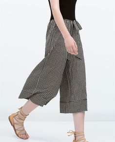 CROPPED FLOWING TROUSERS-Collection-TRF-COLLECTION AW15 | ZARA United States