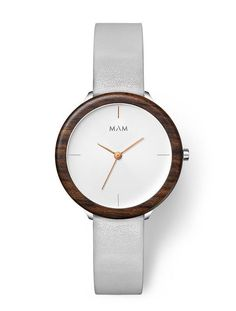 A modern wood watch with a timeless and minimalist design for your everyday wear.