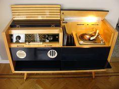 Amazing Vintage Grundig Konzertschrank 7080/56 console stereo