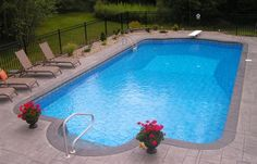 Basic Pool. Just need a place to swim and an end deep enough for a diving board.