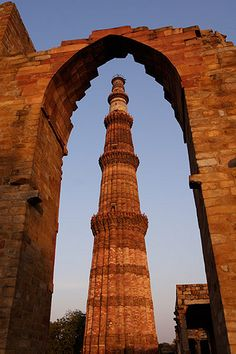 Qutub Minar, http://ziptrips.in/ads/17-delhi-sightseeing-tour-1-day-trip -  Qutub Minar also Qutb Minar, is a UNESCO World Heritage Site in Delhi, India. The Qutub Minar is constructed with red sandstone and marble, and is the tallest minaret in India. It is surrounded by several other ancient and medieval structures and ruins, collectively known as Qutub complex. ZipTrips.in offers all inclusive hassle free day tours and weekend tours all across India.