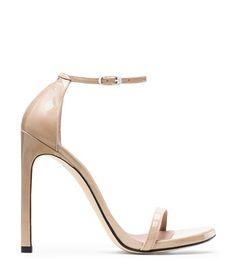 Stuart Weitzman <span class='plpItemName'>NUDIST SANDAL<br/></span><span class='plpGroupName'> in Patent</span> Heels Sandal